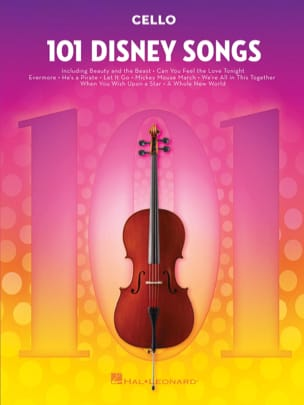 101 Disney Songs DISNEY Partition Violoncelle - laflutedepan