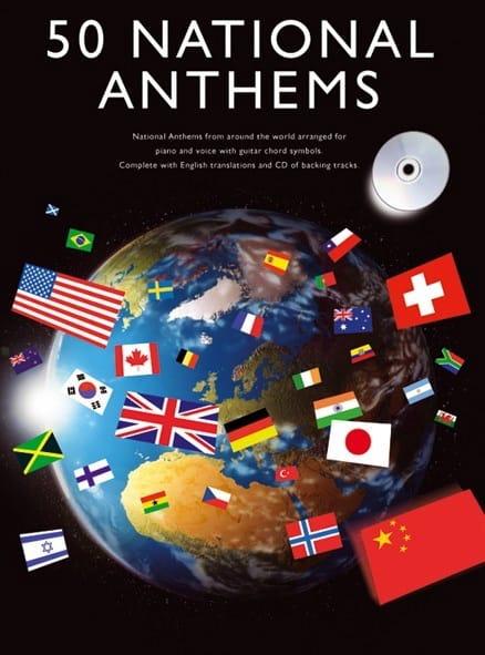 50 National Anthems - Partition - laflutedepan.com