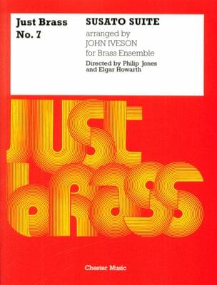 Susato Suite - Just Brass N° 7 Tielman Susato Partition laflutedepan