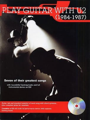 Play Guitar With U2 1984-1987 U2 Partition Pop / Rock - laflutedepan