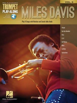 Miles Davis - Trumpet Play-Along Volume 6 Miles Davis - Partition - di-arezzo.fr