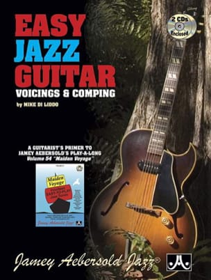 METHODE AEBERSOLD - Easy jazz guitar - voicings - comping with 2 CDs - Partition - di-arezzo.co.uk