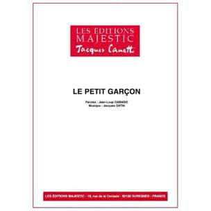 Serge Reggiani - The little boy - Partition - di-arezzo.co.uk