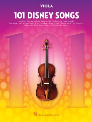 101 Disney Songs DISNEY Partition Alto - laflutedepan