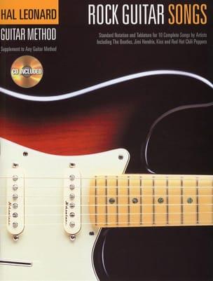 Rock Guitar Songs - Partition - Guitare - laflutedepan.com