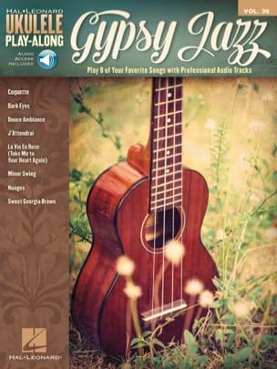 Ukulele Play-Along Volume 39 Gypsy Jazz Partition laflutedepan