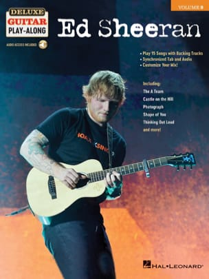 Deluxe Guitar Play-Along Volume 9 - Ed Sheeran Ed Sheeran laflutedepan