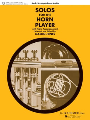 Solo For the Horn Player Partition Cor - laflutedepan