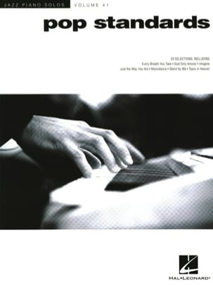Jazz Piano Solos Series Volume 41 - Pop Standards laflutedepan