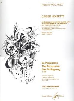 Caisse Noisette - Frédéric Macarez - Partition - laflutedepan.com