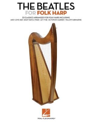 The Beatles For Folk Harp BEATLES Partition Harpe - laflutedepan
