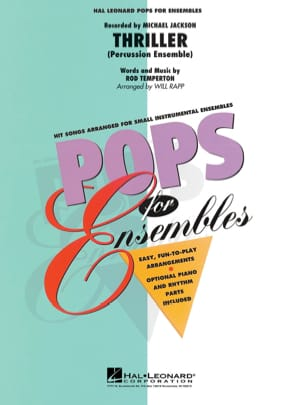 Thriller - Pops For Ensembles Michael Jackson Partition laflutedepan