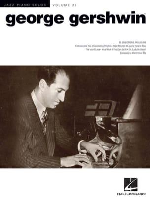 Jazz piano solos volume 26 - George Gershwin GERSHWIN laflutedepan