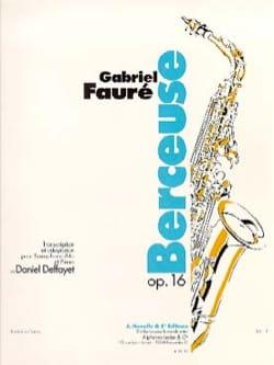 Gabriel Fauré - canción de cuna - Partition - di-arezzo.es