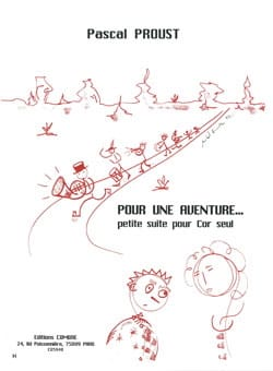 Pour une aventure.... Pascal Proust Partition Cor - laflutedepan