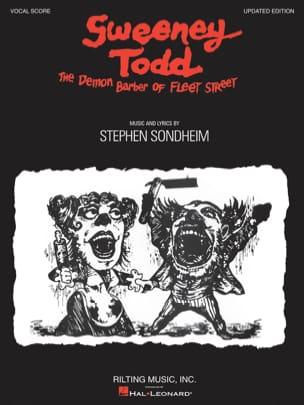 Sweeney Todd - Vocal Score Stephen Sondheim Partition laflutedepan