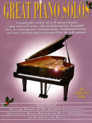 Noël - Great Piano Solos - Il libro di Natale - Partition - di-arezzo.it