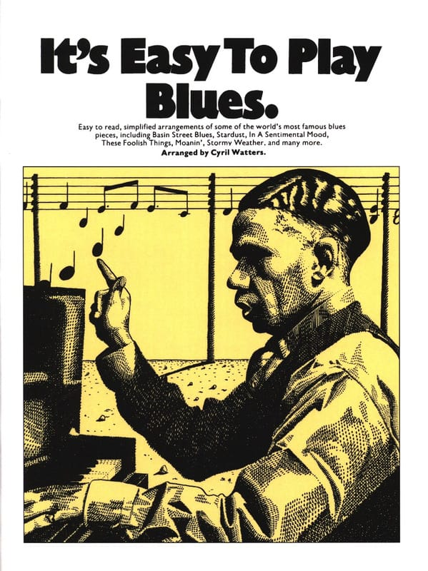 It's easy to play blues - Partition - Jazz - laflutedepan.com