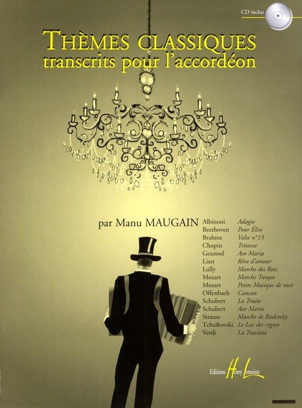 Thèmes Classiques Transcrits Pour L' Accordéon - laflutedepan.com