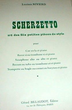 Scherzetto N° 6 Des Six Petites Pièces de Style laflutedepan