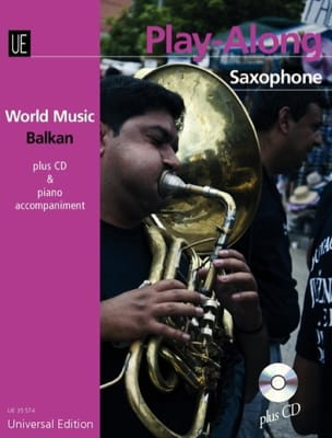 World music Balkan - Play-along Saxophone Traditionnels laflutedepan