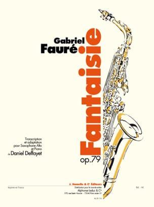 Gabriel Fauré - Fantasía Opus 79 - Partition - di-arezzo.es
