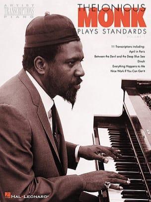 Plays Standards Volume 1 Thelonious Monk Partition Jazz - laflutedepan
