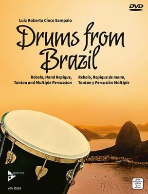 Drums from Brazil Sampaio Luiz Roberto Cioce Partition laflutedepan