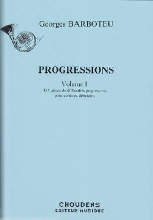 Progressions Volume 1 - Georges Barboteu - laflutedepan.com
