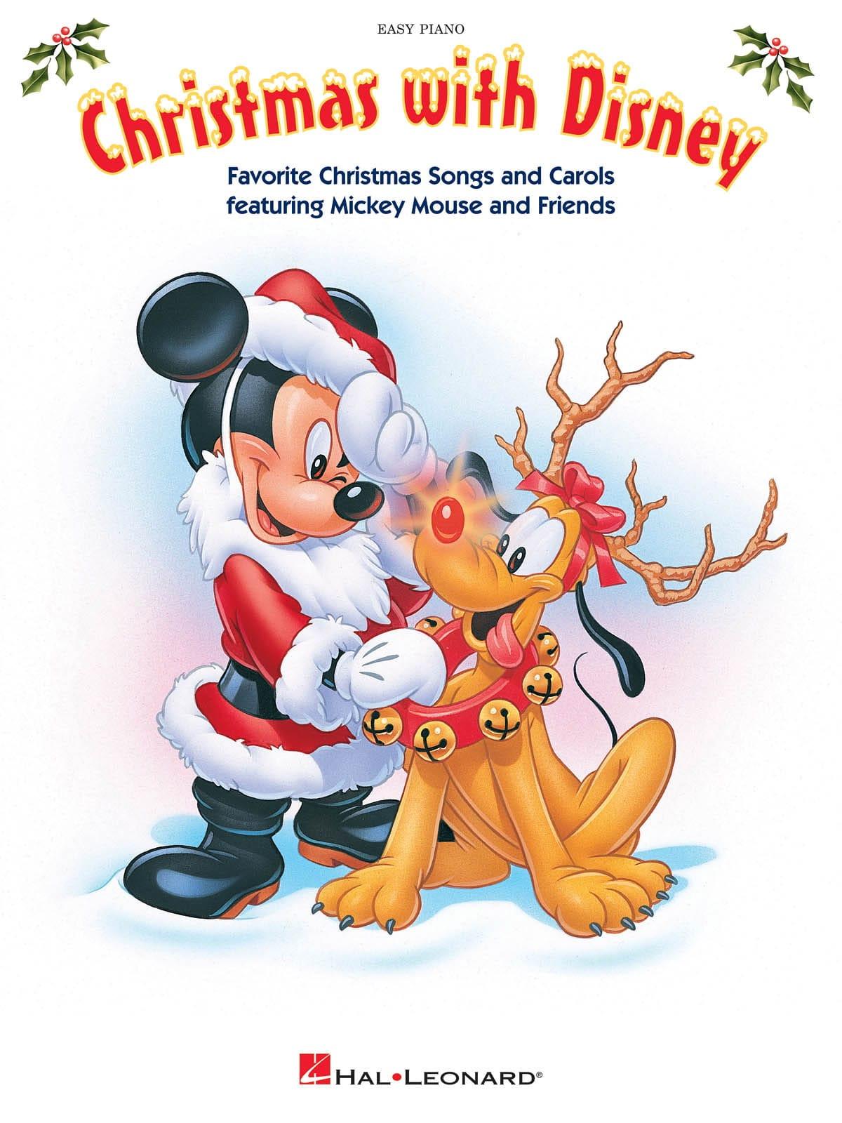 Christmas with Disney - Easy Piano - DISNEY - laflutedepan.com