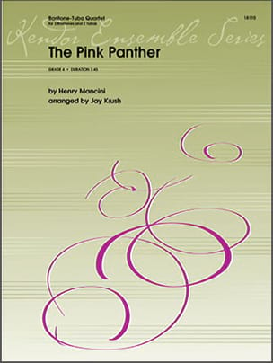 The Pink Panther - Quatuor de Tubas MANCINI Partition laflutedepan