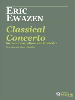 Classical Concerto Eric Ewazen Partition Saxophone - laflutedepan