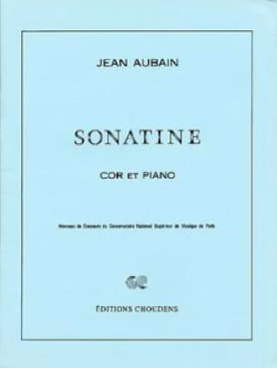 Sonatine - Jean Aubain - Partition - Cor - laflutedepan.com