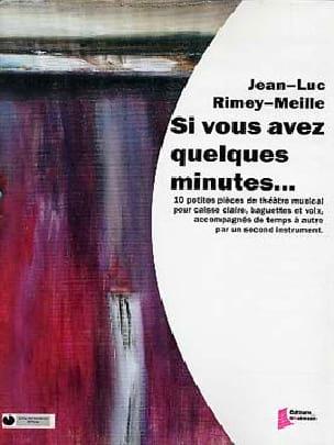 Si Vous Avez Quelques Minutes... - laflutedepan.com