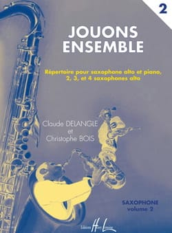 Jouons Ensemble Volume 2 DELANGLE - BOIS Partition laflutedepan