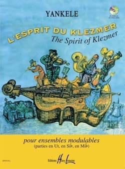 L'esprit du Klezmer Yankele Partition ENSEMBLES - laflutedepan
