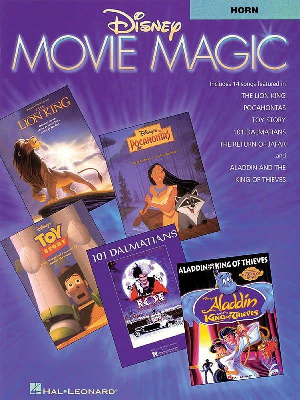 Disney Movie Magic - DISNEY - Partition - Cor - laflutedepan.com