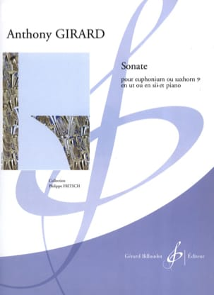 Sonate Anthony Girard Partition Tuba - laflutedepan
