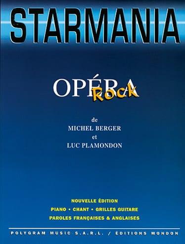 Starmania - Partition - Comédie musicale - laflutedepan.be