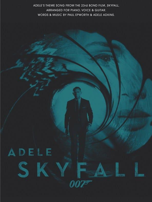 Skyfall - James Bond Theme - Adele - Partition - laflutedepan.com
