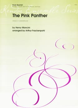 The Pink Panther MANCINI Partition Ensemble de cuivres - laflutedepan