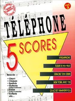 5 Scores - Volume 2 Téléphone Partition laflutedepan