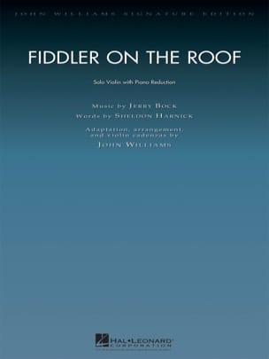 Un violon sur le toit Jerry Bock Partition Violon - laflutedepan