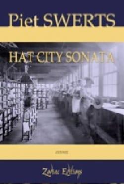 Hat city sonata Piet Swerts Partition Saxophone - laflutedepan