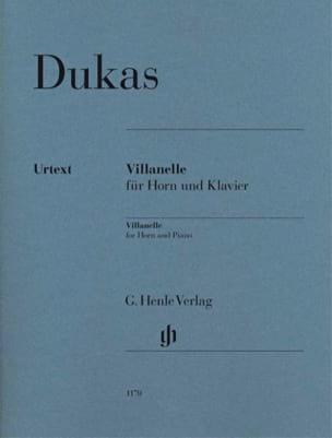 Paul Dukas - Partition - di-arezzo.com