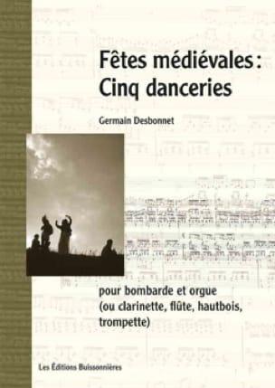 Fêtes Médiévales - Cinq Danceries - laflutedepan.com