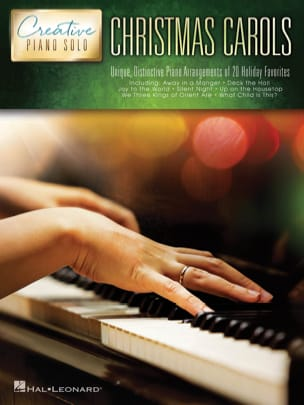 Creative Piano Solo - Christmas Carols Partition laflutedepan