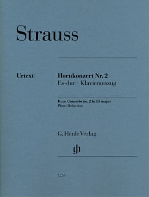 Concerto pour cor n° 2 en Mi bémol majeur Richard Strauss laflutedepan