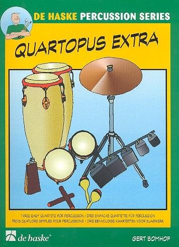 Quartopus Extra - Gert Bomhof - Partition - laflutedepan.com