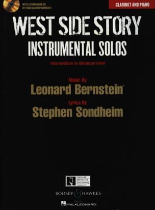 West side story - Instrumental solos BERNSTEIN Partition laflutedepan